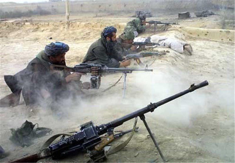 تصویر درگیری شدید در شمال افغانستان