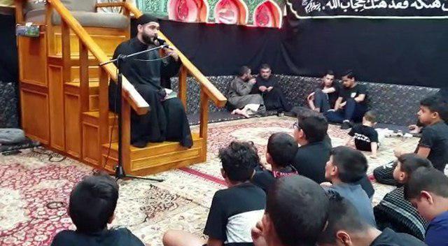 تصویر مجالس عزاداری ایام شهادت محسن بن علی علیه السلام در استرالیا