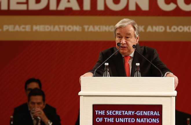 تصویر دبیرکل سازمان ملل: شرایط بازگشت آوارگان مسلمان به میانمار باید فراهم شود