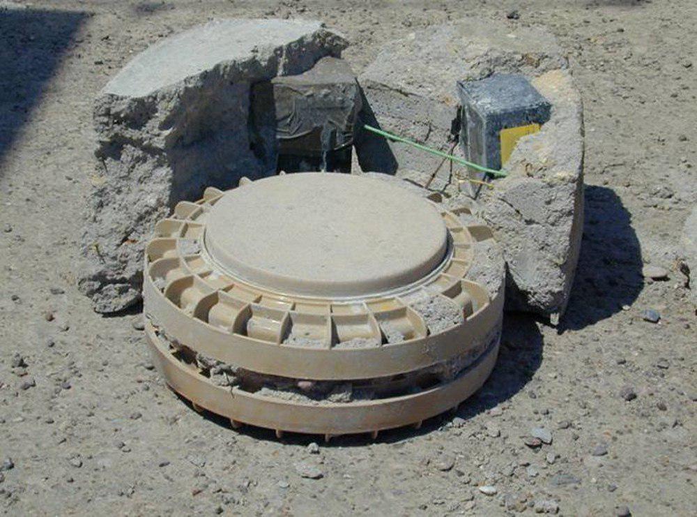 تصویر جانباختن 6 پلیس در انفجار مین در بادغیس افغانستان