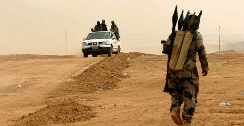 تصویر بازداشت کارگزار گروهک تروریستی داعش در موصل