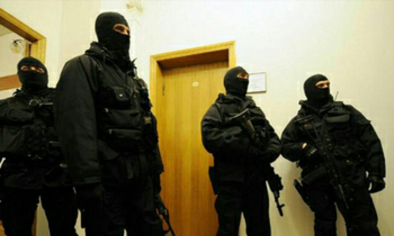 تصویر اوکراین فرمانده نظامی ارشد داعش را دستگیر کرد