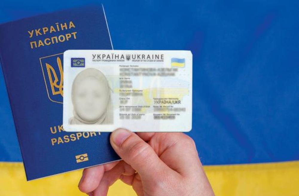 تصویر تصویب داشتن حجاب اسلامی در مدارک رسمی مسلمانان اوکراین