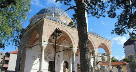 تصویر افتتاح دوباره یک مسجد قدیمی در ترکیه