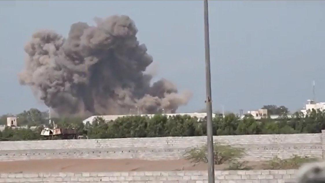 تصویر ادامه حمله به غیر نظامیان یمنی توسط ائتلاف سعودی