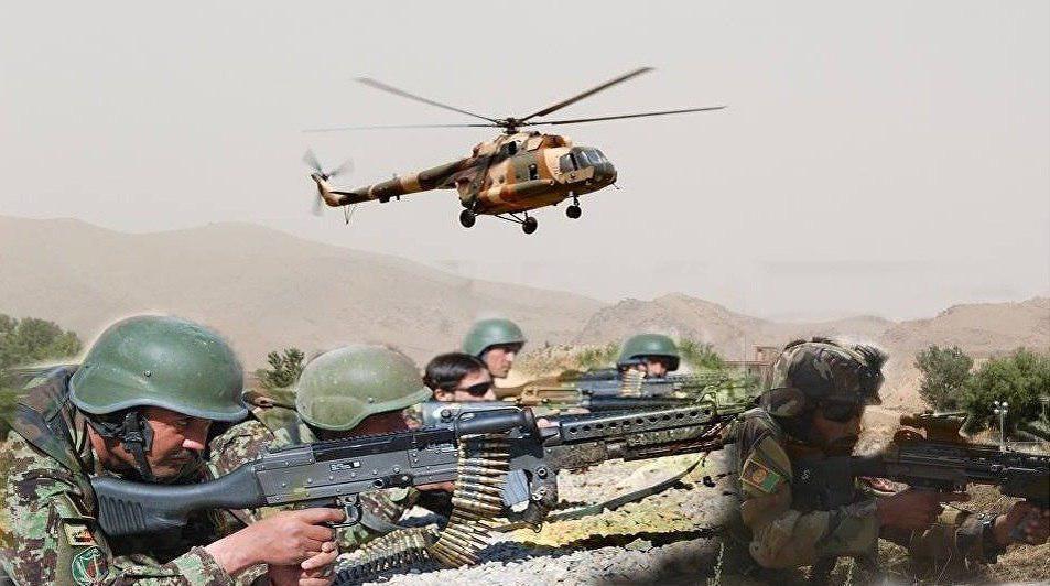تصویر هلاکت 11 عضو داعش در اچین افغانستان