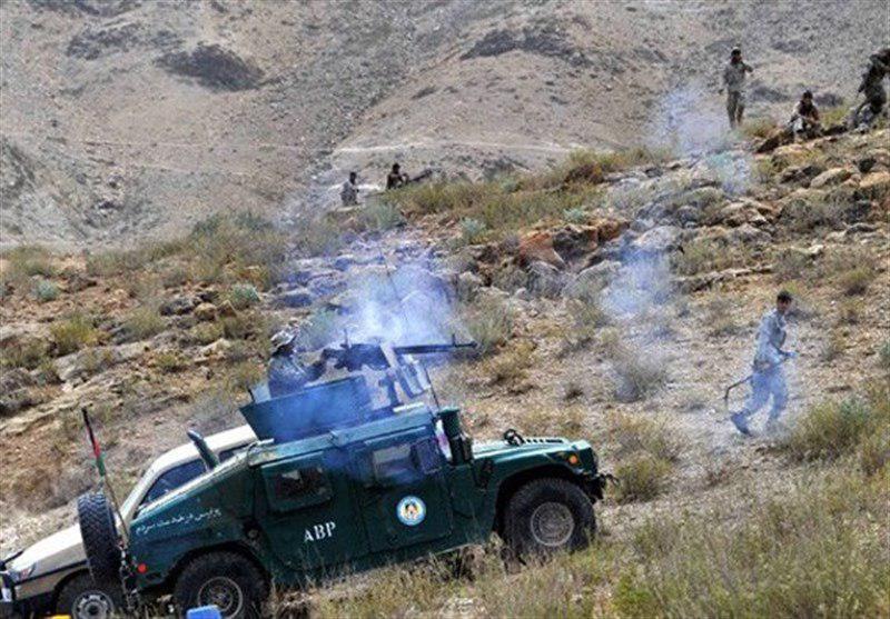 تصویر نظامیان افغانستان در کمین عناصر طالبان