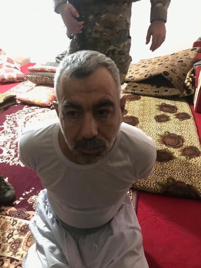 تصویر بازداشت معاون ابوبکر البغدادی در عراق