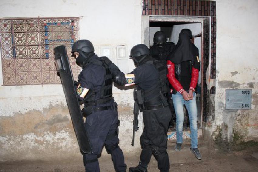 تصویر متلاشی شدن یک گروهک تروریستی در مراکش