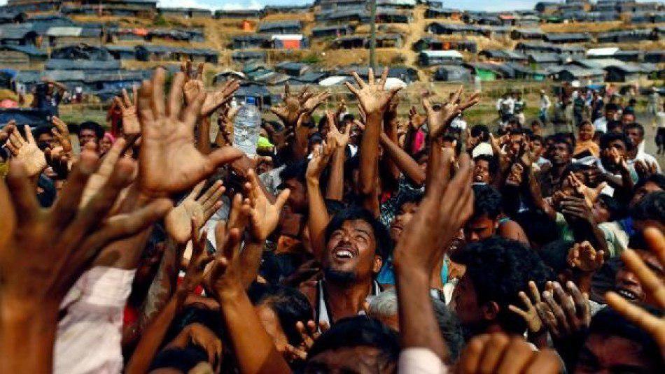 تصویر محاکمه میانمار به اتهامِ نسل کشی مسلمانان روهینگیا