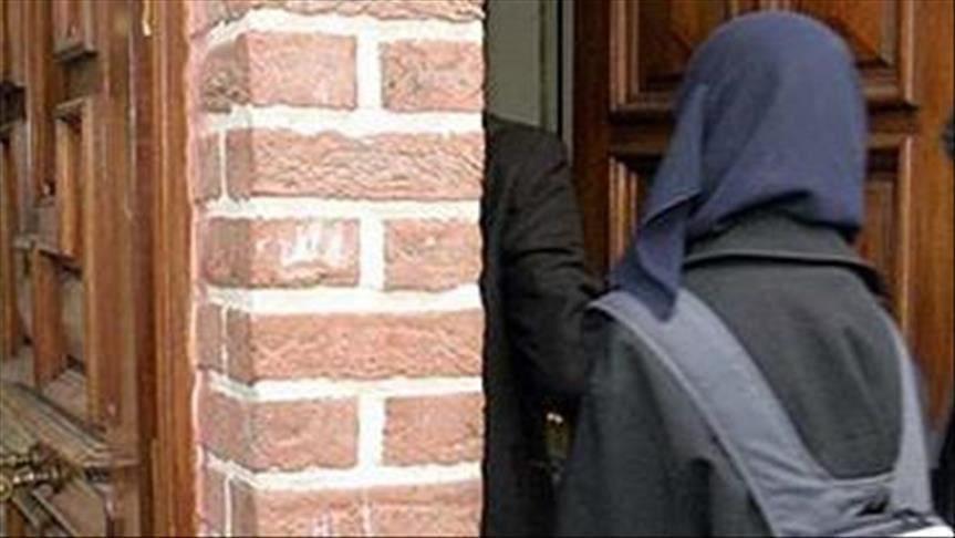 تصویر حمله زوج انگلیسی به دختر نوجوان مسلمان