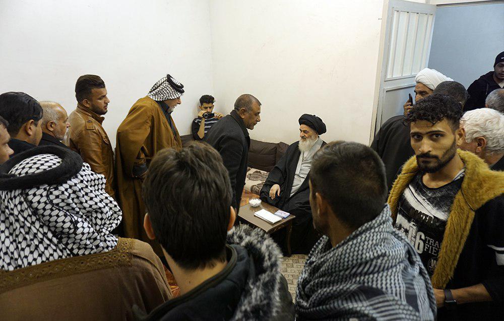 Photo of حضور شیوخ عشایر و مسئولان مواکب حسینی کشور عراق در بیت مرجعیت شیعه در شهر مقدس قم