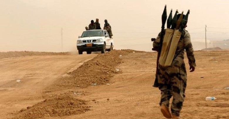 تصویر 7شهید و مجروح در نتیجه حمله داعش در دیاله عراق