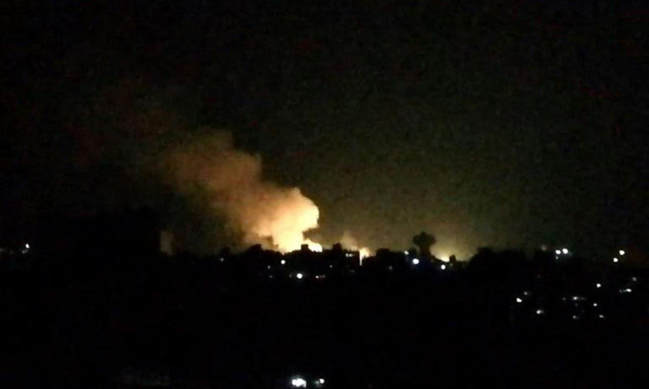 تصویر حمله خمپارهای به شهر شیعه نشین الزهرا در سوریه