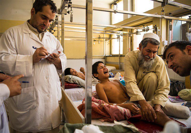 تصویر یونیسف: روزی ۹ کودک در افغانستان قربانی میشوند
