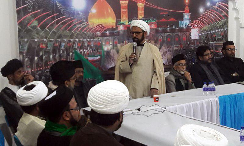 تصویر نشست رسیدگی به امور مسلمانان هند توسط نماینده آیت الله العظمی شیرازی