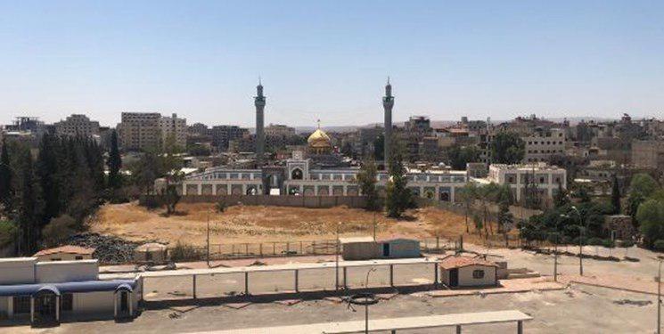 تصویر تکمیل مهمانسرای حرم حضرت زینب سلام الله علیها در دمشق پایتخت سوریه