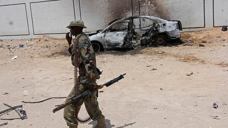 تصویر 37 قربانی در بمب گذاری انتحاری در سومالی