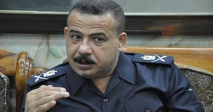 تصویر رئیس پلیس نجف: اماکن دولتی کاملا امن هستند/ با تظاهرات کنندگان درباره نبستن راهها توافق شد