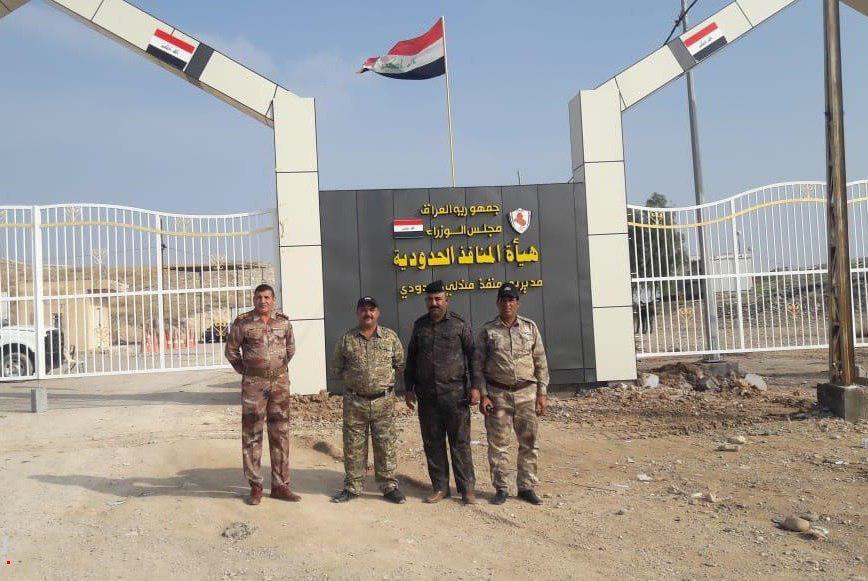تصویر گذرگاه مرزی دیالی و ایران امروز بازگشایی میشود