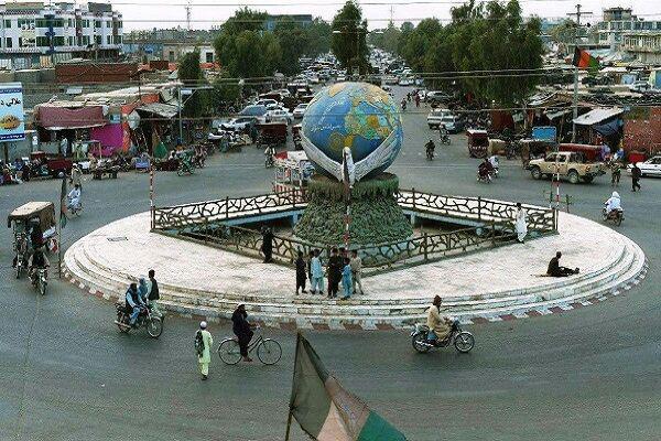 تصویر انفجار مین در هلمند افغانستان