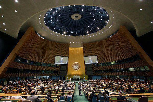 تصویر تصویب قطعنامه سازمان ملل در حمایت از مسلمانان میانمار