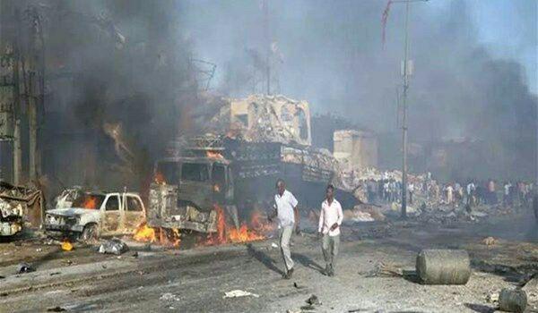 تصویر افزایش جان باختگان انفجار سومالی به بیش از ۱۰۰ نفر