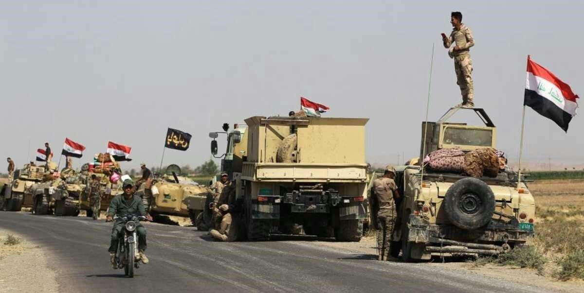 تصویر آغاز مرحله هشتم عملیات ارادة النصر در عراق
