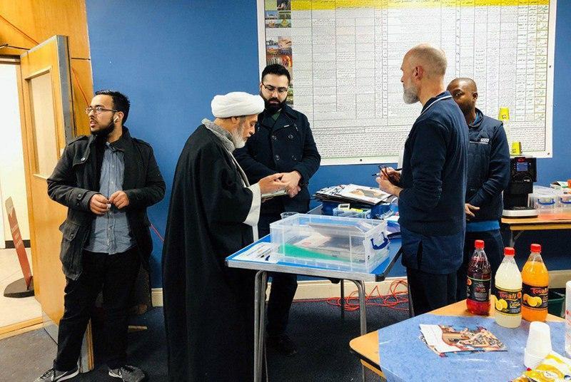 تصویر کمپین اهدای خون در حسینیه رسول اعظم صلی الله علیه وآله در لندن