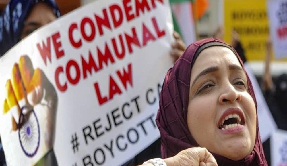 تصویر انتقاد وکلای حقوق بشر از نقض حقوق مسلمانان هند