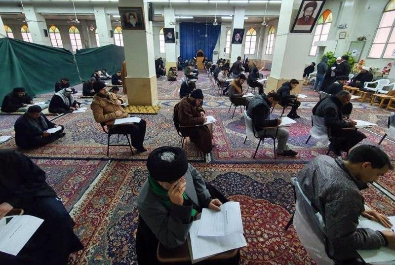تصویر آغاز فصل اول امتحانات حوزه علمیه زینبیه شهر دمشق سوریه