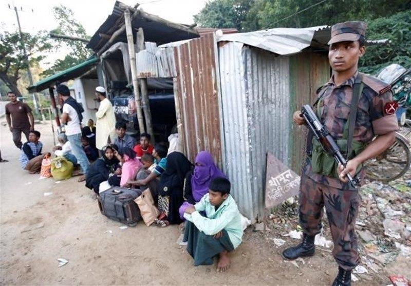 تصویر صدور حکم دادگاه لاهه درباره پرونده اقلیت مسلمان میانمار