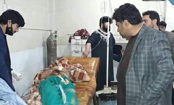 تصویر حمله با بمب دستی به مراسم عروسی در افغانستان