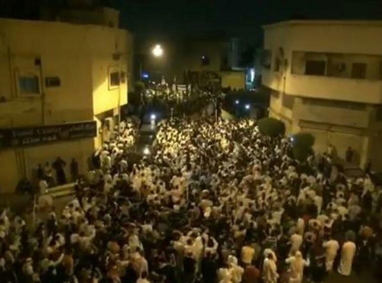 تصویر تظاهرات شیعیان عربستان علیه حکومت سعودی و سرکوب ها