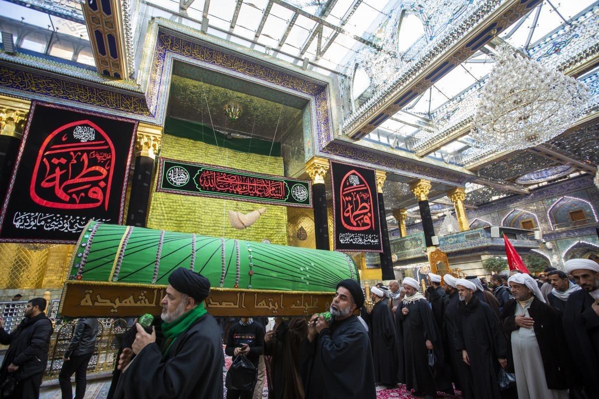 تصویر جهان در عزای شهادت صدیقه کبری حضرت فاطمه زهرا علیها السلام