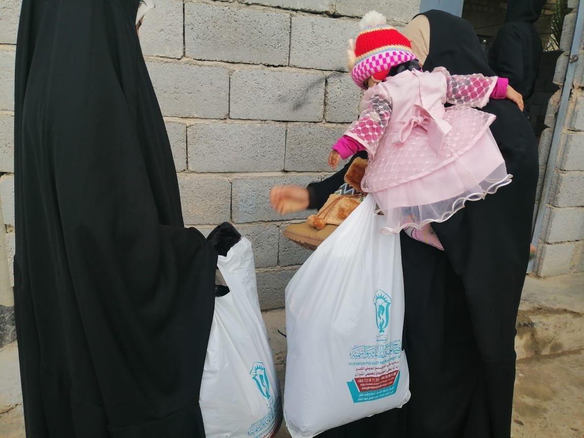 تصویر بازسازی مدارس و ترویج فرهنگ فاطمی توسط موسسه مصباح الحسین علیه السلام
