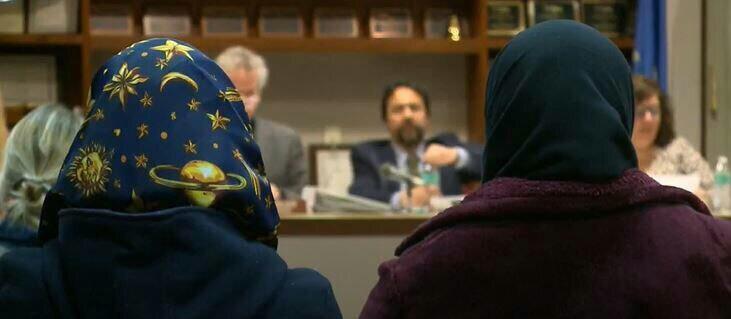 تصویر مسلمانان آمریکا خواستار تعطیلی عید فطر شدند