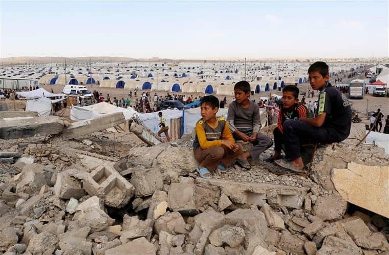 تصویر یونیسف: ۱۷۲۲ کودک عراقی در حملات داعش جان باختند