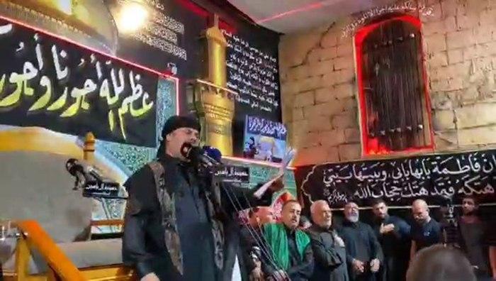 تصویر عزای فاطمی در حسینیه آل یاسین در استرالیا