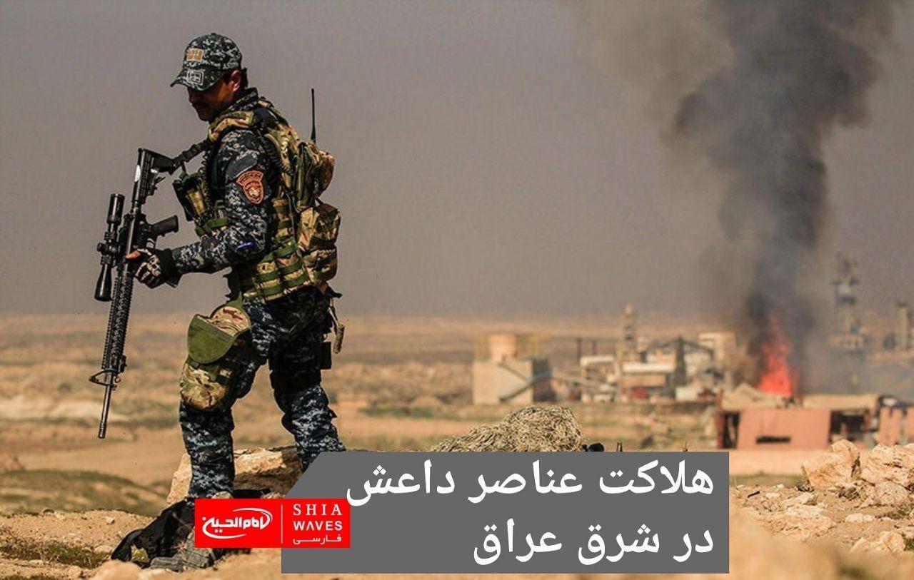 تصویر هلاکت عناصر داعش در شرق عراق