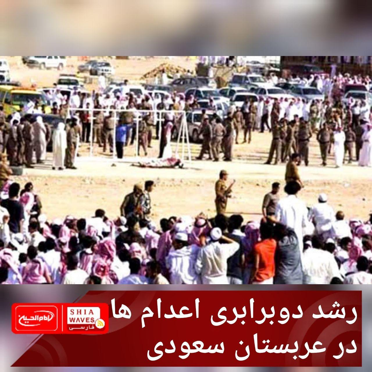 تصویر رشد دوبرابری اعدام ها در عربستان سعودی
