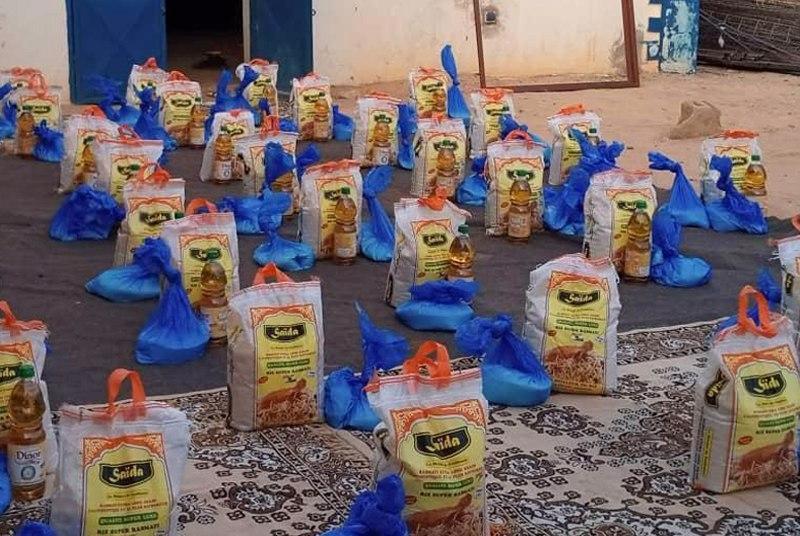 تصویر کمکهای کمیته جهانی حضرت سیدالشهدا علیه السلام به کشورهای آفریقایی