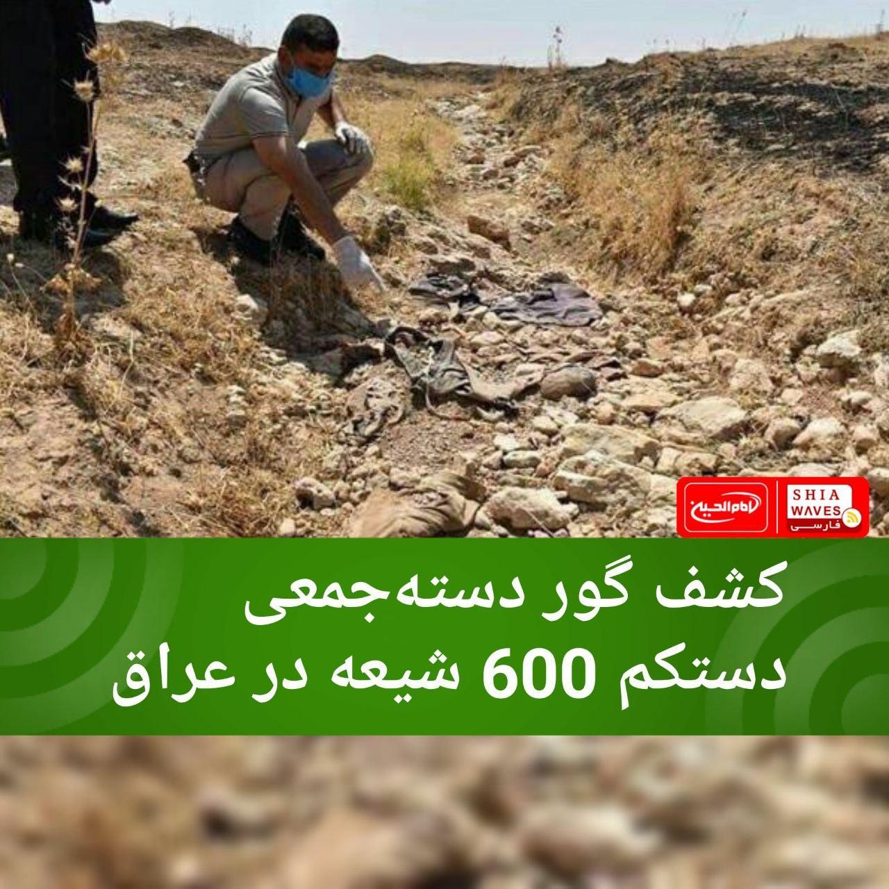 تصویر کشف گور دستهجمعی دستکم 600 شیعه در عراق