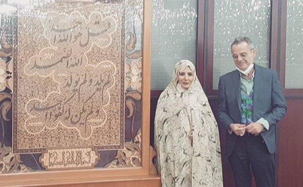 تصویر شیعه شدن یک مسیحی در امامزاده صالح تجریش