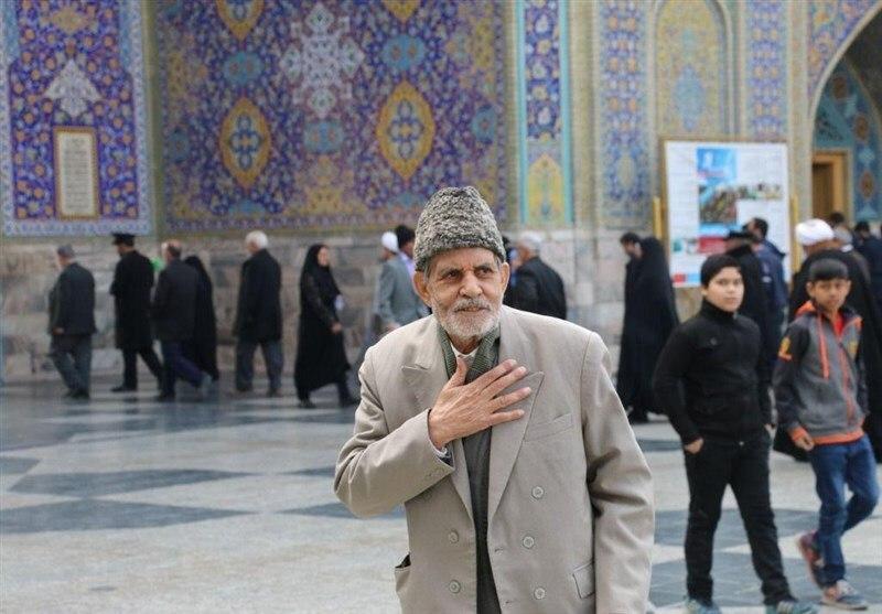 تصویر قدیمیترین استاد کاشیکار حرم امام رضا علیه السلام درگذشت
