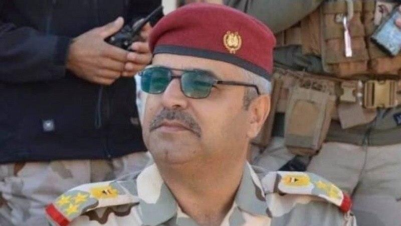 تصویر شهادت یک فرمانده ارشد ارتش عراق در استان الانبار