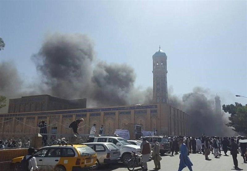 تصویر انفجار در مسجدی در بنگلادش