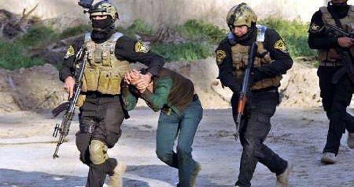تصویر بازداشت مسئول بمبهای داعش در استان کرکوک