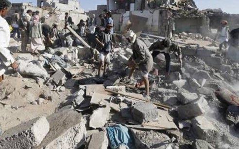 تصویر شهادت بیش از ۴۳ هزار یمنی در ۲۰۰۰ روز گذشته