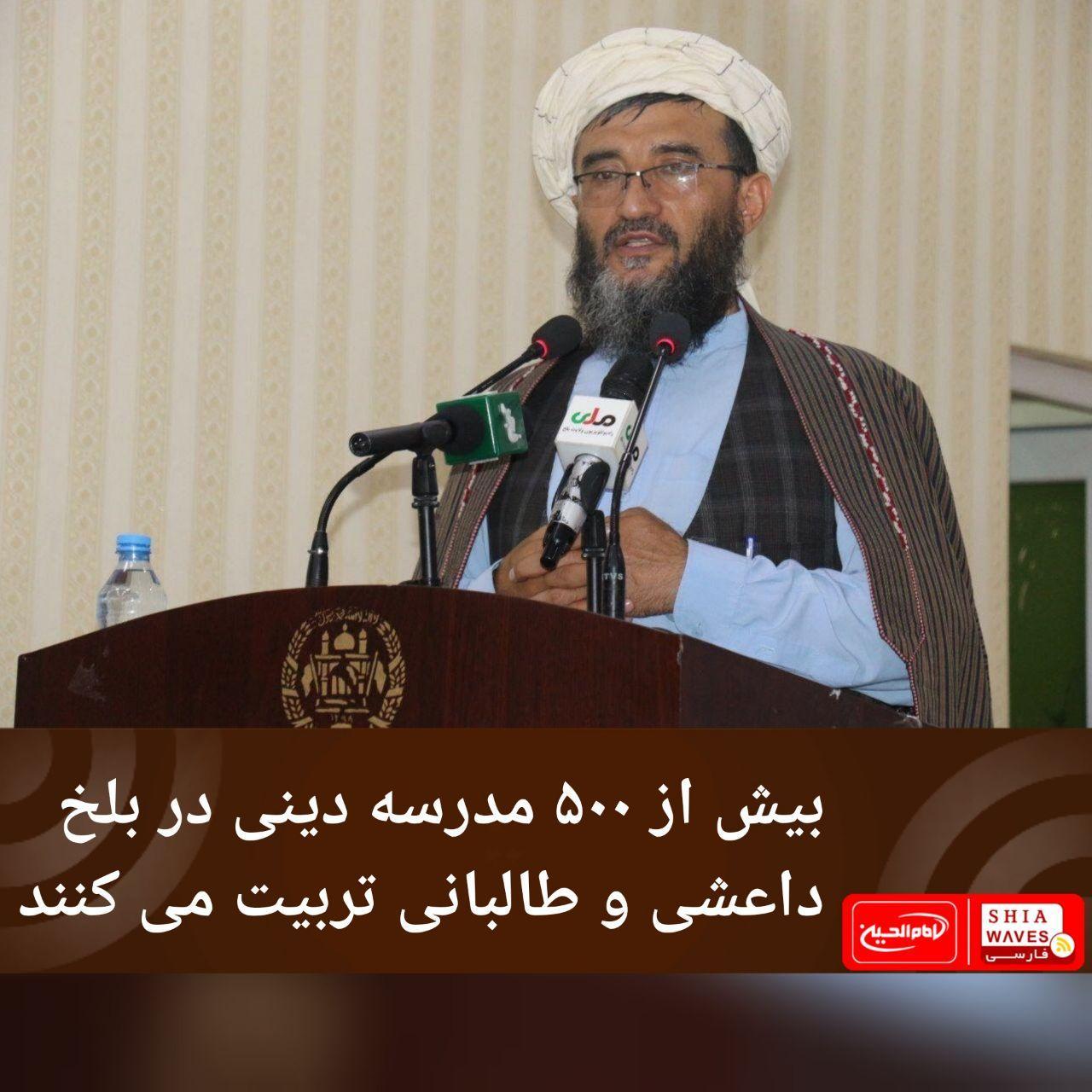 تصویر بیش از ۵۰۰ مدرسه دینی در بلخ داعشی و طالبانی تربیت می کنند